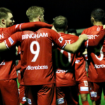 Josh Bingham's thumping header secures 1-0 win for Hume City in Bentleigh Greens showdown